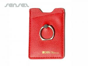 RFID Mobile Phone Wallets with Rings