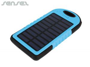 Lightweight Solar Power Banks (4000mAh)