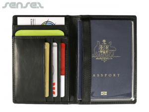Hugo Leather RFID Passport Wallets