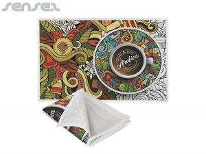 Full Colour Printed Cotton Tea Towels