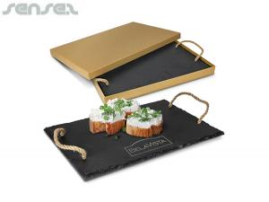 Deluxe Natural Slate Serving Boards