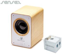 Eco Wood Bluetooth Speakers