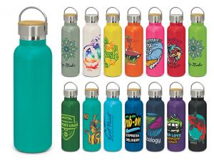 Bright Jala Stainless Bamboo Thermo Bottles (650ml)