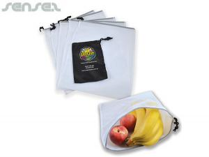 Fruit & Veg Set Of 5 Produce Bags