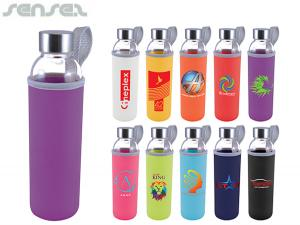 Mecca Glass Bottles With Neoprene Sleeve (570ml)