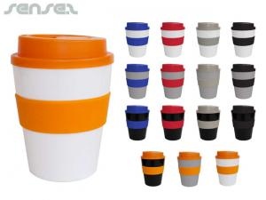 Lagoona Reusable BPA Free Coffee Cups (330ml)
