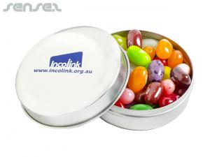 JELLY BELLY Jelly Bean Round Tins (50g)