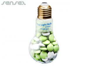 Chocolate Bean Filled Light Globes (100g)