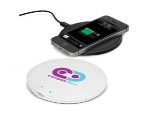 Faux Leather Wireless Chargers - Round
