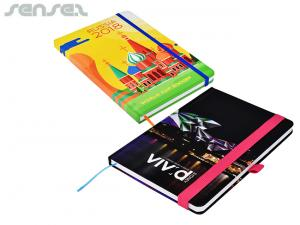 Illuminate Custom Full Colour Notebooks A5