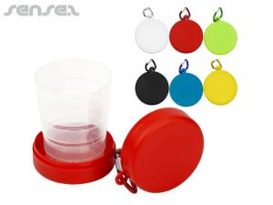 Compact Foldable Collapsible Cups (220ml)