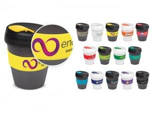 Frosted Recyclable Eco BPA Free Coffee Cups (350ml)