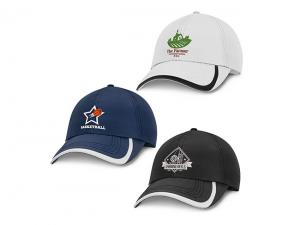 Ada Embroidered Polyester Sports Caps