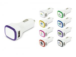 Flash Light Up USB Car Chargers