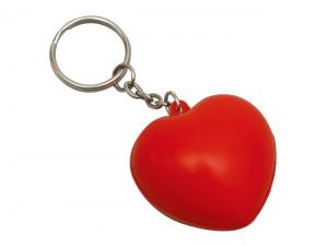 Heart Shaped Stress Keyrings