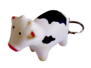 Moo Cow Stress Keyrings