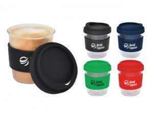 Small Peak Glass Coffee Cups (290ml)