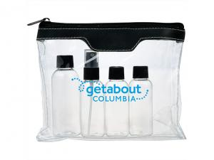 Clear Travel Toiletry Kits