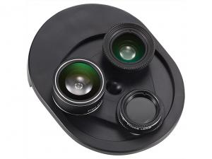 Revolving 4 In 1 Camera Phone Lenses