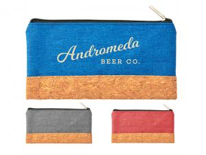 Cork Bottom Pencil Case Pouches