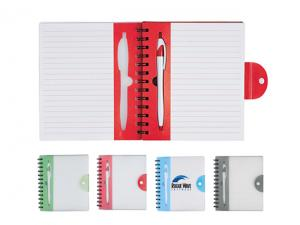 Bon Clear Notebook With Pens