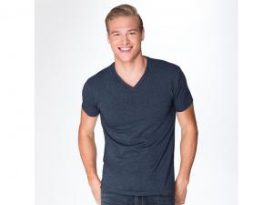 Cotton V Neck Mens T Shirts