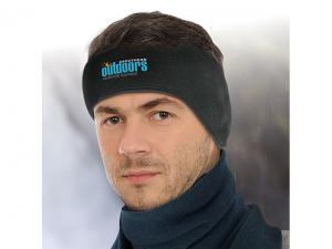 Embroidered Ski Ear Warmers