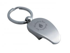Engraved Metal Keyrings With Bottle Opener
