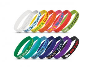 Debossed Silicon Event Wrist Bands