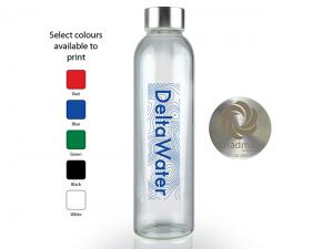 Isle Borosilicate Glass Drink Bottles (550ml)