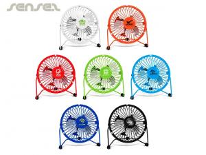 Retro Flow Desk Fans