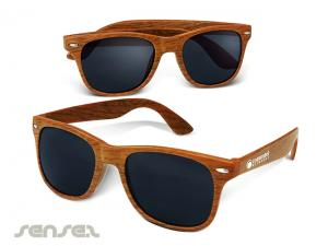 Miami Bamboo Look Sunglasses