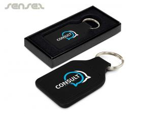 Praxima Leather Key Rings (Square)