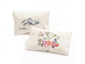 Full Colour Cotton Canvas Pencil Cases (12oz)