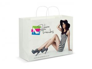 Colour Wrap Printed Paper Bags (X Large)