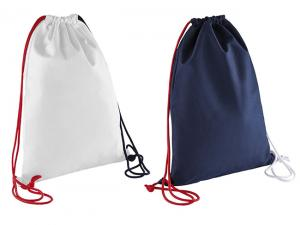 Salu Cotton Canvas Drawstring Backpacks