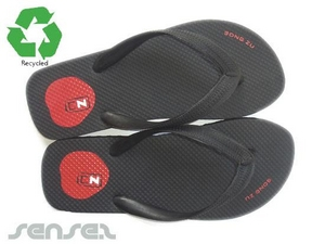 Eco Recycled Rubber Beach Thongs