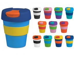 Metro Coffee Cups With Flip Lids (320ml)