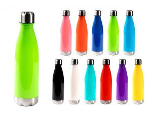 BPA Free Drink Bottles With Stainless Lid (650ml)