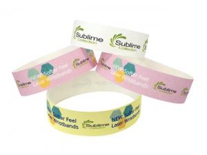 Softer Paper Full Colour Event Wristbands