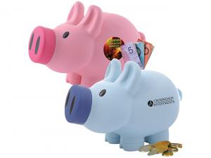 Coloured Piggy Coin Banks