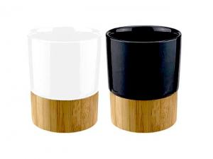 Eco Ceramic Bamboo Cups (300ml)