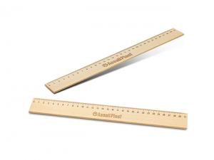 Eco Wooden Rulers (30cm)