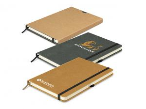 Eco Leather Recycled Hard Cover Notebooks (A5)