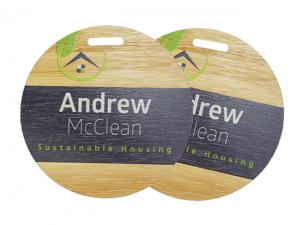 Eco Bamboo Name Tags (75mm)