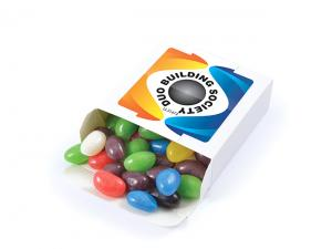 Eco White Boxed Jelly Beans (50g)