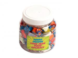 PET Jars Filled With Allen's Lollies (500g)