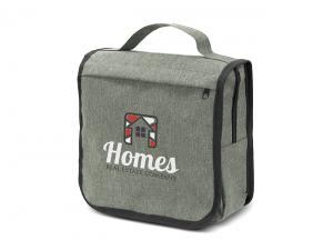 Two-Tone Heather Style Toiletry Bags