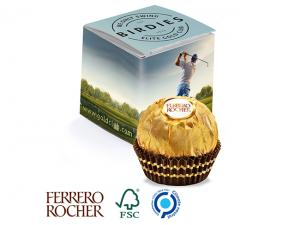 Single Ferrero Rocher Pralines In Printed Gift Box (12g)