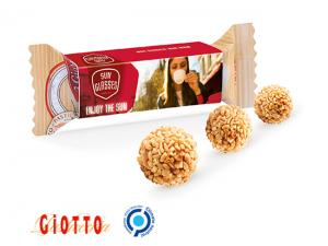 Ferrero Giotto Pralines In Printed Case (3Pcs)
